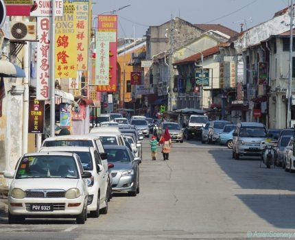Chinatown in George Town ジョージタウンの中華街