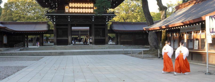 Meiji Jingu, magnificent shrine right in the middle in Tokyo 東京中心部にありながら広大で荘厳な神社「明治神宮」