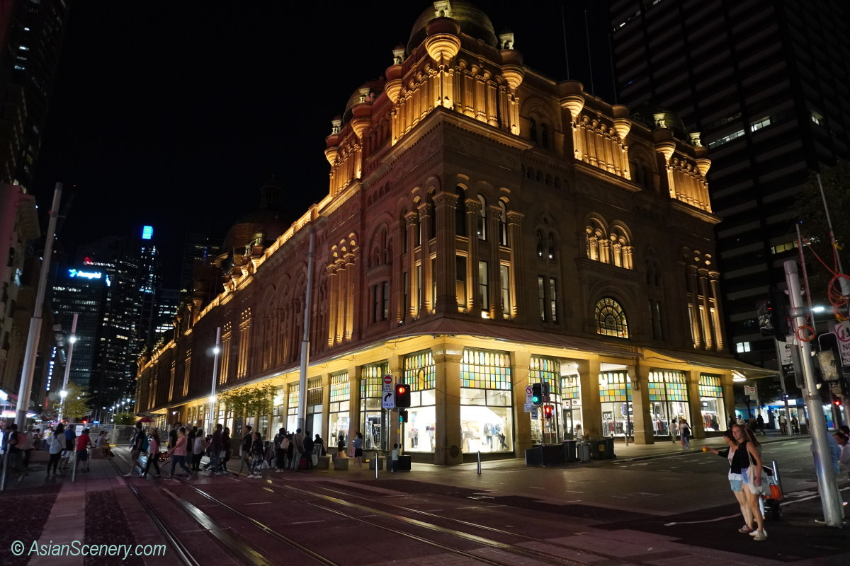 Queen Victoria Building in Sydney シドニーのクイーン・ビクトリア・ビル