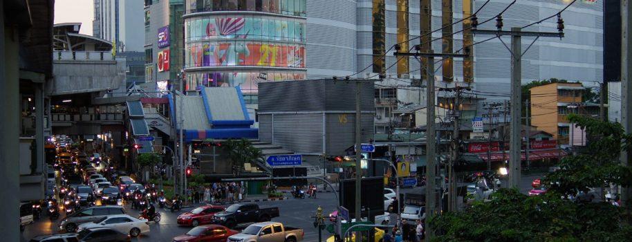 Terminal 21 at Asok station in Bangkok  バンコクのアソーク駅のターミナル21